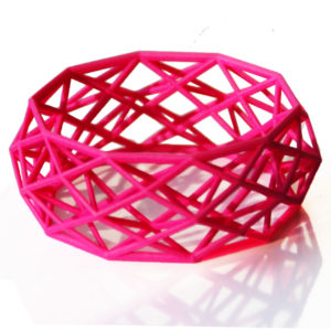 Constructionist bold Nylon pink liggend