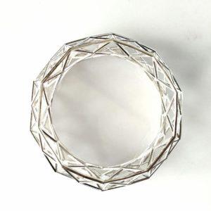 Constrcutionist Sleek Silver top on white