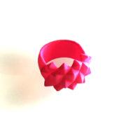 Ring Studs Nylon Pink on white 300x220