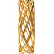 105 ph3 Circles Bracelet Sleek goldplated staand3