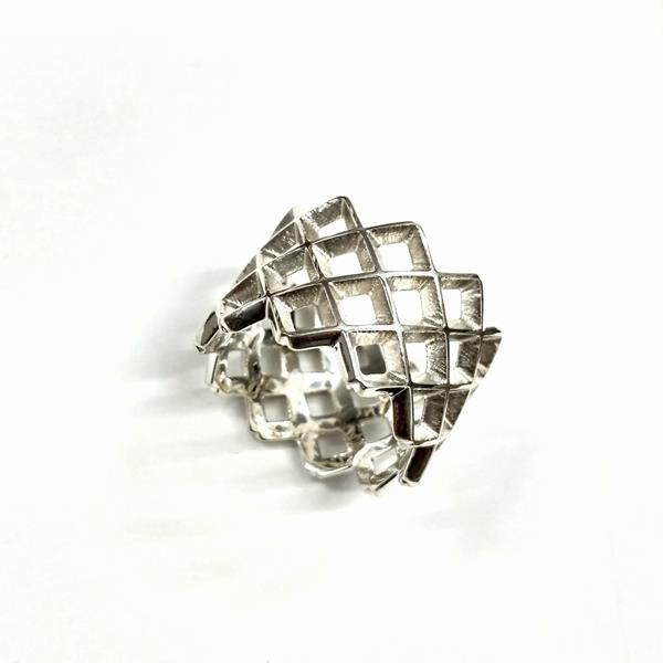 mesh-ring-on-white