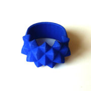 Ring Studs Nylon Blue on white 620x421