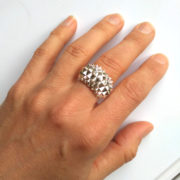 Ring Studs Bolder Silver on hand
